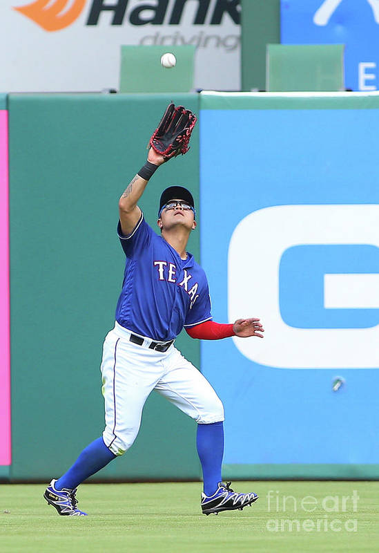 People Art Print featuring the photograph Shin-soo Choo by Rick Yeatts