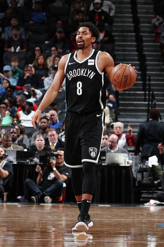 Sport Art Print featuring the photograph Spencer Dinwiddie by Nathaniel S. Butler