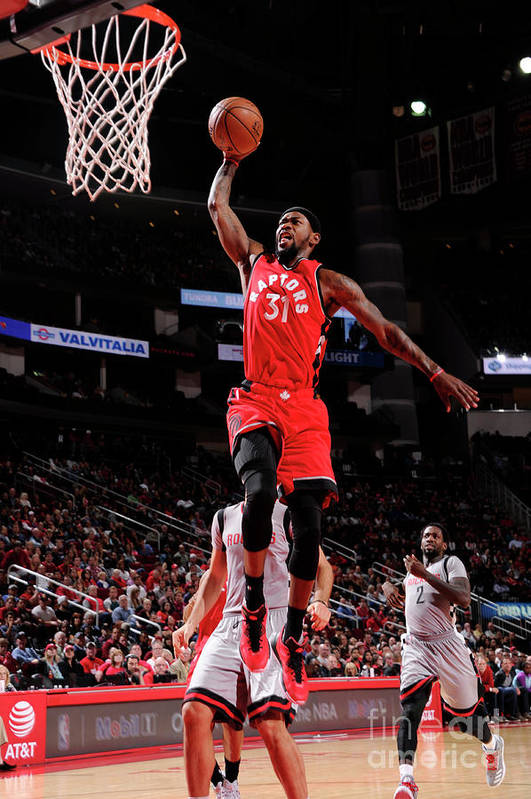 Nba Pro Basketball Art Print featuring the photograph Terrence Ross by Bill Baptist