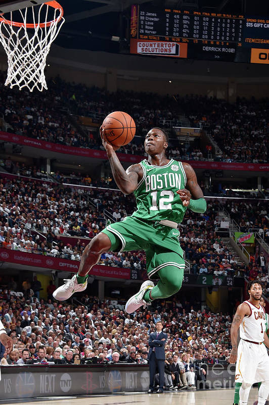 Nba Pro Basketball Art Print featuring the photograph Terry Rozier by David Liam Kyle