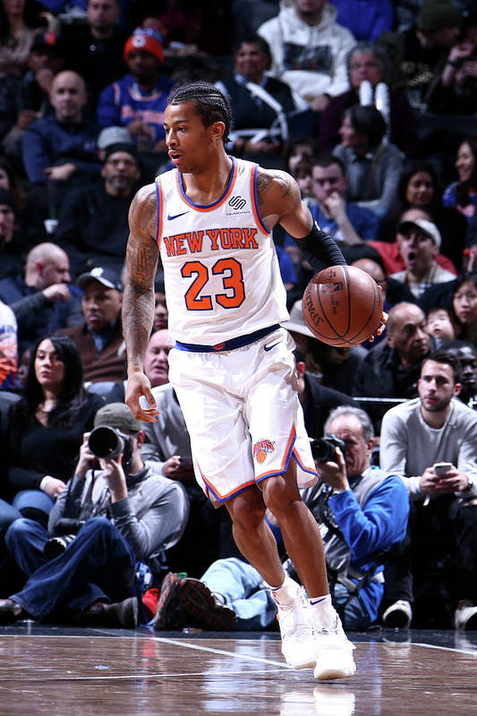 Nba Pro Basketball Art Print featuring the photograph Trey Burke by Nathaniel S. Butler