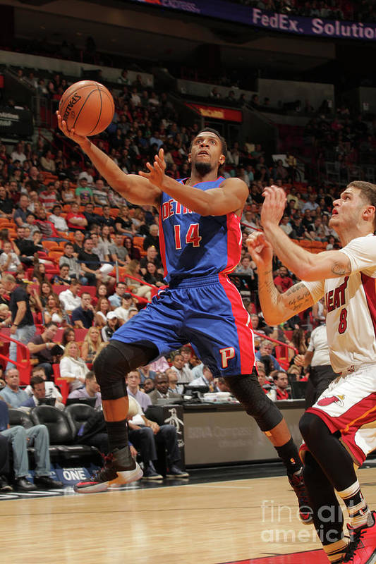 Nba Pro Basketball Art Print featuring the photograph Tyler Johnson by Oscar Baldizon