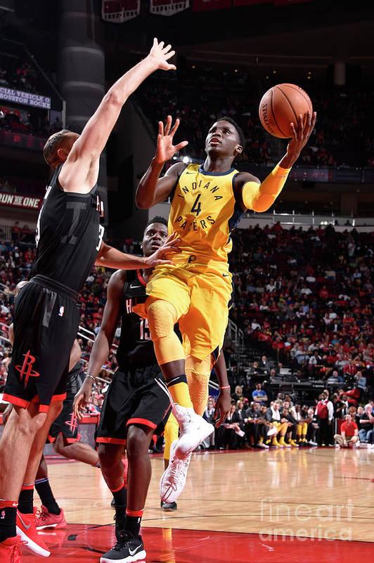 Nba Pro Basketball Art Print featuring the photograph Victor Oladipo by Bill Baptist