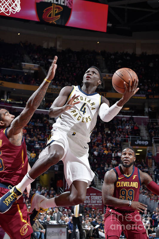 Nba Pro Basketball Art Print featuring the photograph Victor Oladipo by David Liam Kyle