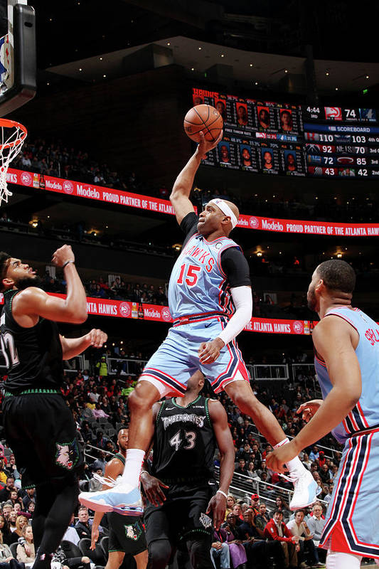 Atlanta Art Print featuring the photograph Vince Carter by Jasear Thompson