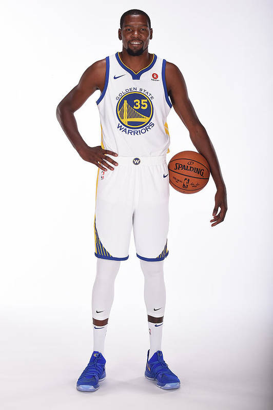 Media Day Art Print featuring the photograph Kevin Durant by Noah Graham
