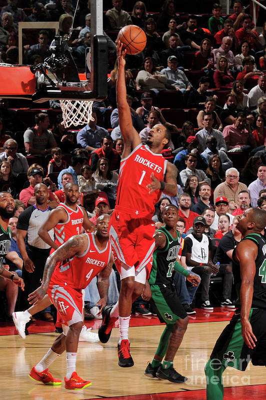Nba Pro Basketball Art Print featuring the photograph Trevor Ariza by Bill Baptist