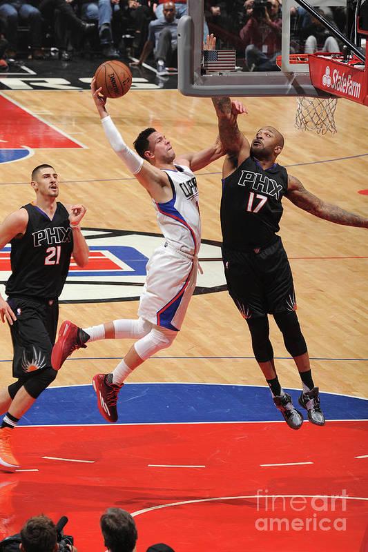 Nba Pro Basketball Art Print featuring the photograph Austin Rivers by Andrew D. Bernstein