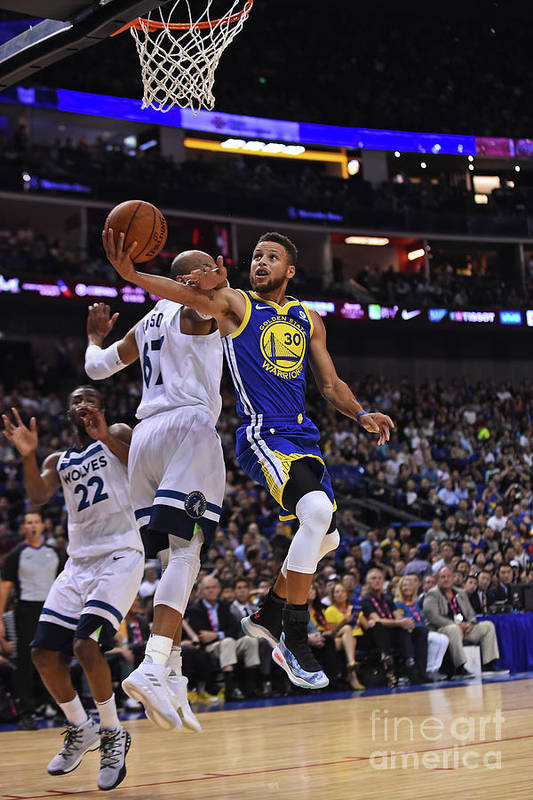 Event Art Print featuring the photograph Stephen Curry by Noah Graham