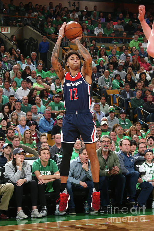 Playoffs Art Print featuring the photograph Kelly Oubre by Ned Dishman