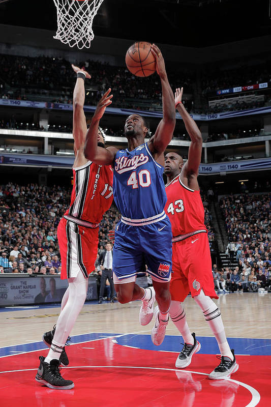 Nba Pro Basketball Art Print featuring the photograph Harrison Barnes by Rocky Widner