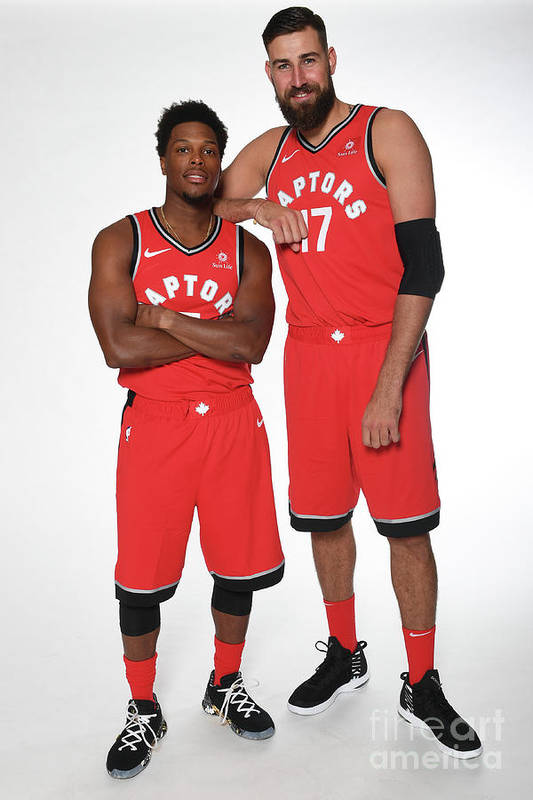 Media Day Art Print featuring the photograph Kyle Lowry by Ron Turenne