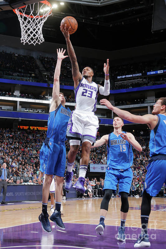 Nba Pro Basketball Art Print featuring the photograph Ben Mclemore by Rocky Widner