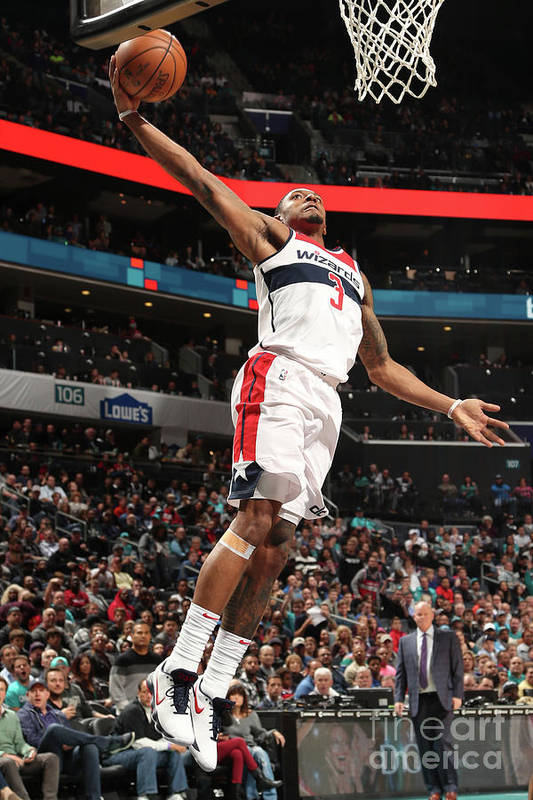 Nba Pro Basketball Art Print featuring the photograph Bradley Beal by Kent Smith