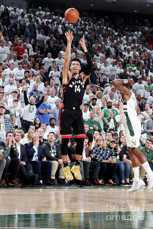 Playoffs Art Print featuring the photograph Danny Green by Nathaniel S. Butler