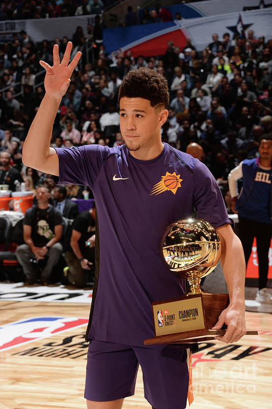 Event Art Print featuring the photograph Devin Booker by Andrew D. Bernstein