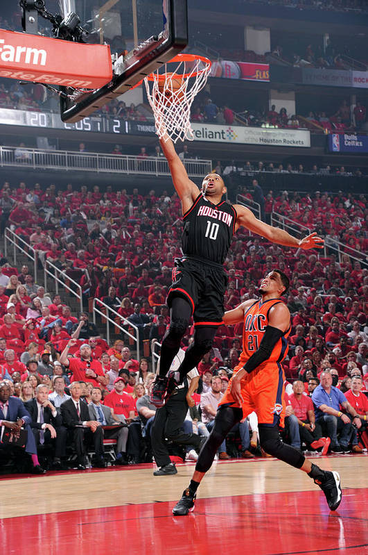 Playoffs Art Print featuring the photograph Eric Gordon by Bill Baptist