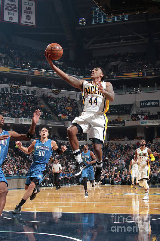 Nba Pro Basketball Art Print featuring the photograph Jeff Teague by Ron Hoskins