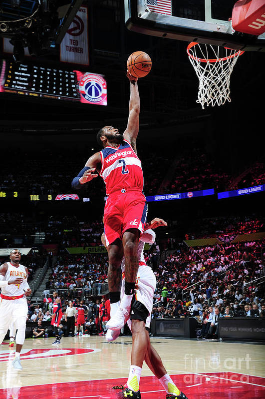 Atlanta Art Print featuring the photograph John Wall by Scott Cunningham