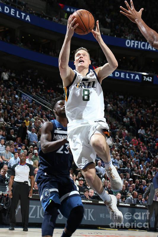 Nba Pro Basketball Art Print featuring the photograph Jonas Jerebko by Melissa Majchrzak