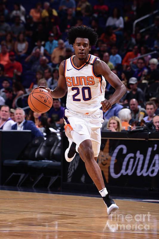 Nba Pro Basketball Art Print featuring the photograph Josh Jackson by Michael Gonzales