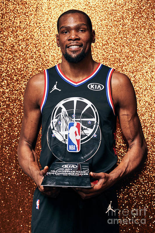 Nba Pro Basketball Art Print featuring the photograph Kevin Durant by Jennifer Pottheiser