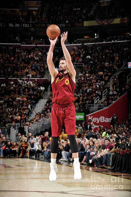 Nba Pro Basketball Art Print featuring the photograph Kevin Love by David Liam Kyle