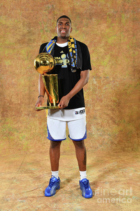 Playoffs Art Print featuring the photograph Kevon Looney by Jesse D. Garrabrant