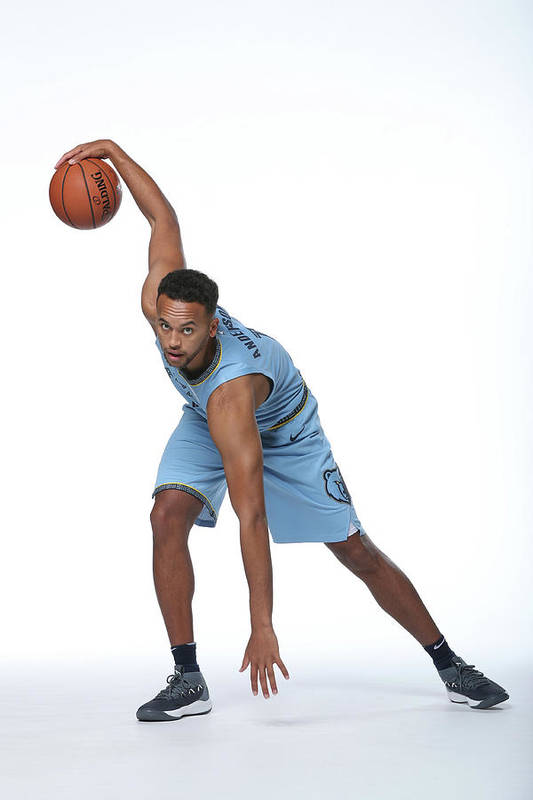Media Day Art Print featuring the photograph Kyle Anderson by Joe Murphy
