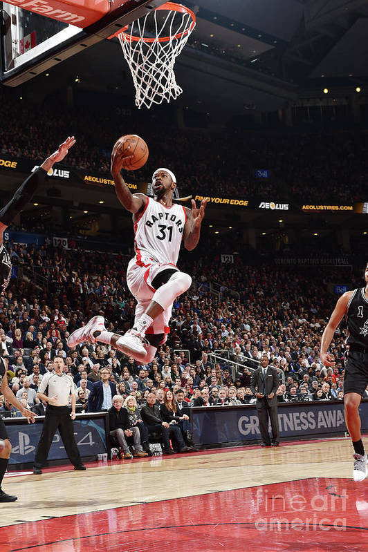 Nba Pro Basketball Art Print featuring the photograph Terrence Ross by Ron Turenne