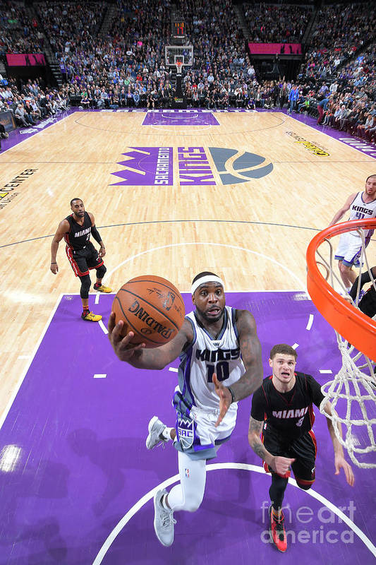 Nba Pro Basketball Art Print featuring the photograph Ty Lawson by Rocky Widner