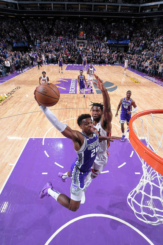Nba Pro Basketball Art Print featuring the photograph Buddy Hield by Rocky Widner