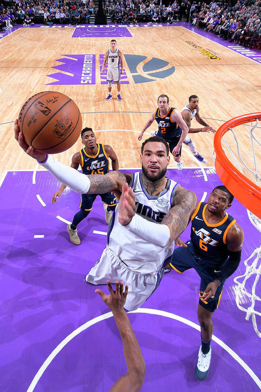 Nba Pro Basketball Art Print featuring the photograph Willie Cauley-stein by Rocky Widner