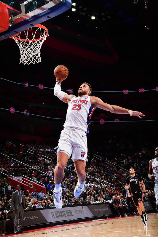 Nba Pro Basketball Art Print featuring the photograph Blake Griffin by Chris Schwegler