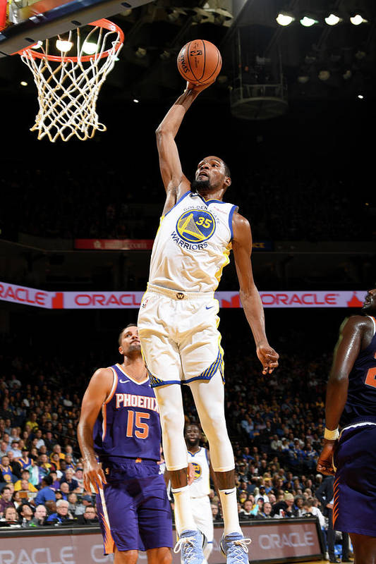 Nba Pro Basketball Art Print featuring the photograph Kevin Durant by Noah Graham