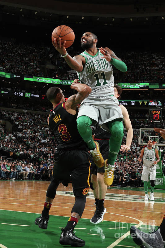 Nba Pro Basketball Art Print featuring the photograph Kyrie Irving by Nathaniel S. Butler