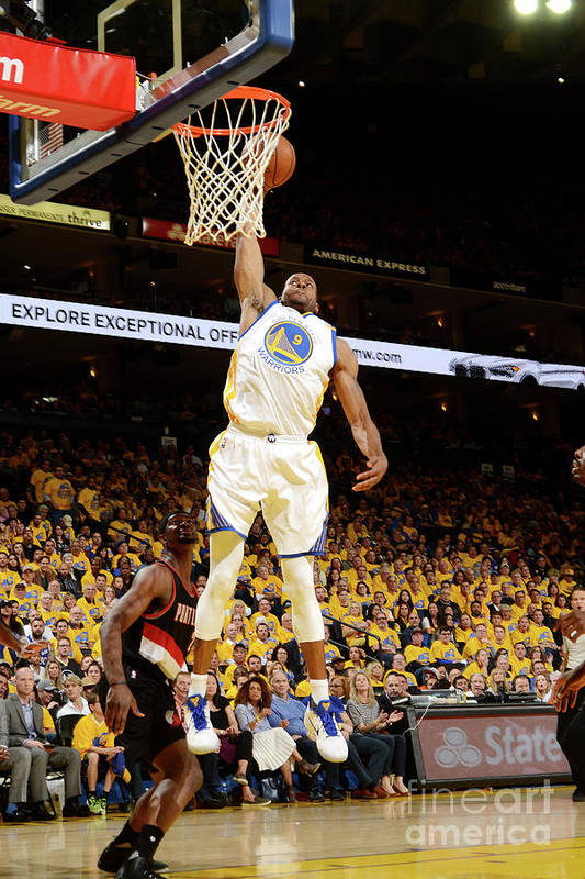 Playoffs Art Print featuring the photograph Andre Iguodala by Noah Graham
