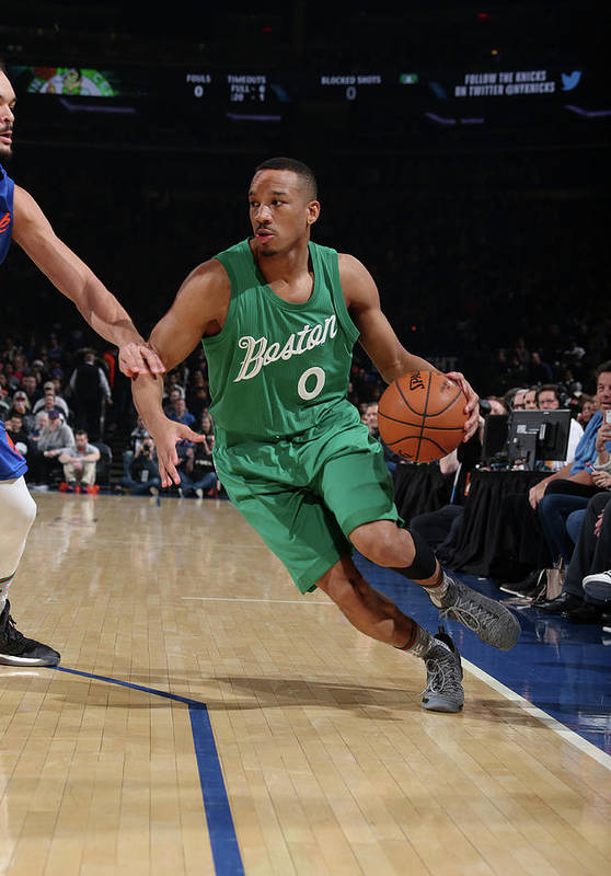 Nba Pro Basketball Art Print featuring the photograph Avery Bradley by Nathaniel S. Butler