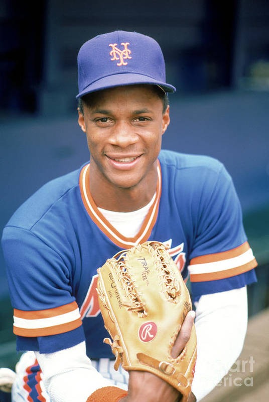 1980-1989 Art Print featuring the photograph Darryl Strawberry by Rich Pilling
