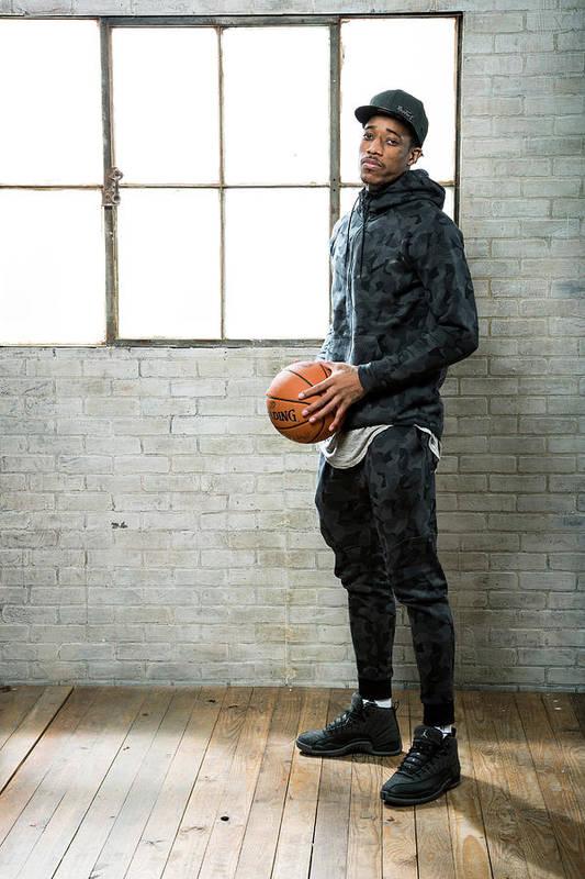 Nba Pro Basketball Art Print featuring the photograph Demar Derozan by Nathaniel S. Butler