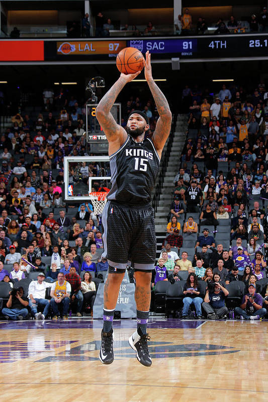 Nba Pro Basketball Art Print featuring the photograph Demarcus Cousins by Rocky Widner