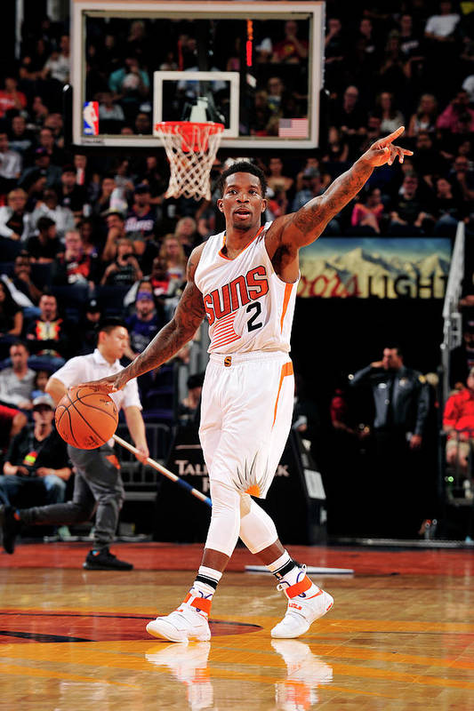 Nba Pro Basketball Art Print featuring the photograph Eric Bledsoe by Barry Gossage