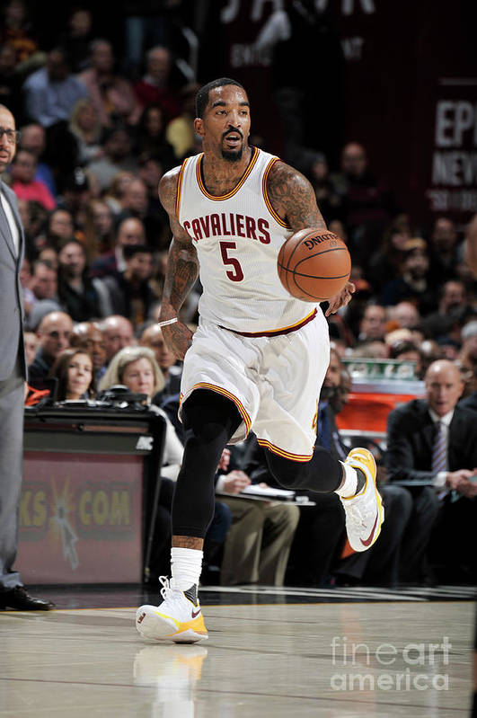 Nba Pro Basketball Art Print featuring the photograph J.r. Smith by David Liam Kyle