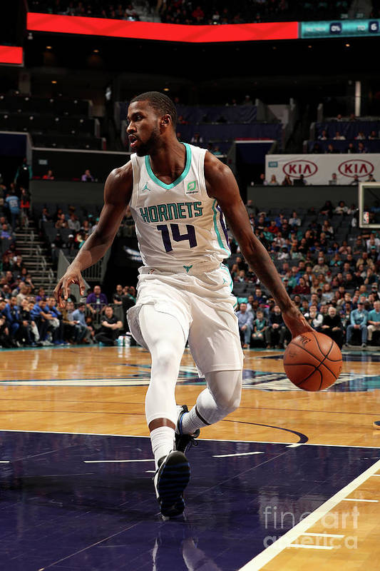 Nba Pro Basketball Art Print featuring the photograph Michael Kidd-gilchrist by Brock Williams-smith