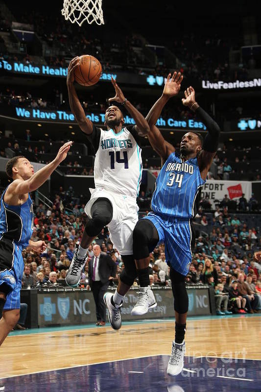 Nba Pro Basketball Art Print featuring the photograph Michael Kidd-gilchrist by Kent Smith