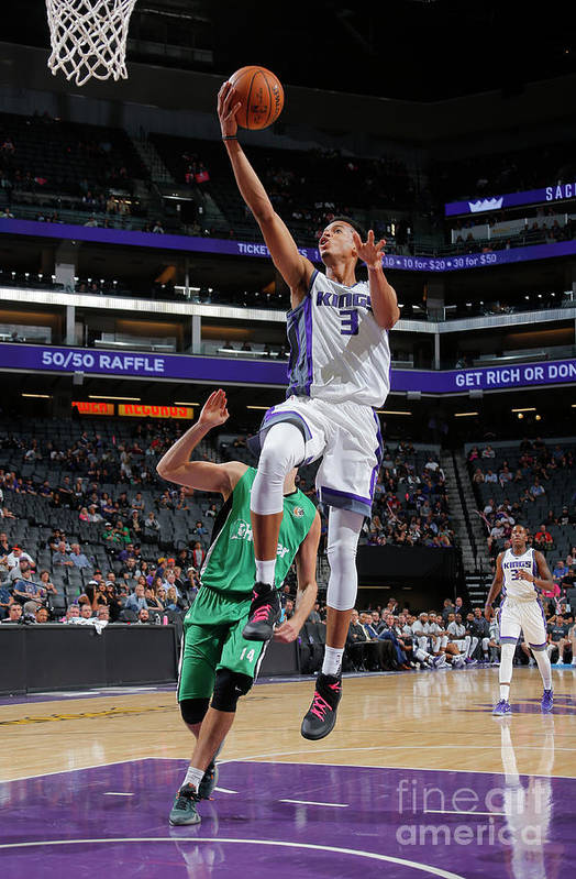 Maccabi Haifa Art Print featuring the photograph Skal Labissiere by Rocky Widner