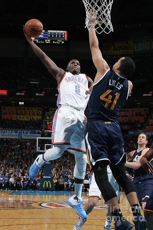 Nba Pro Basketball Art Print featuring the photograph Victor Oladipo by Layne Murdoch