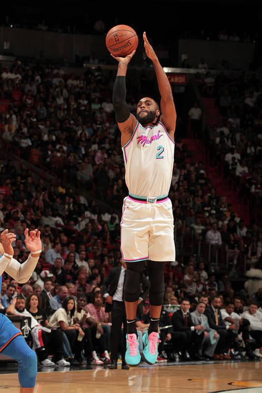 Nba Pro Basketball Art Print featuring the photograph Wayne Ellington by Oscar Baldizon