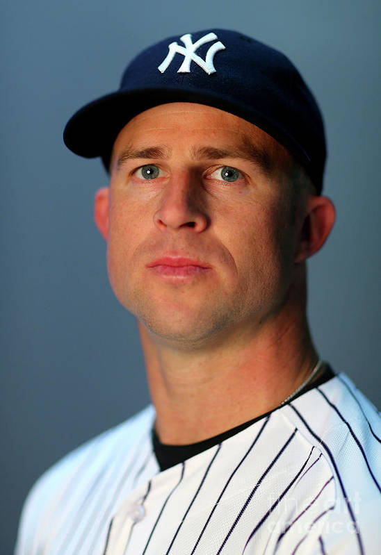 People Art Print featuring the photograph Brett Gardner by Elsa