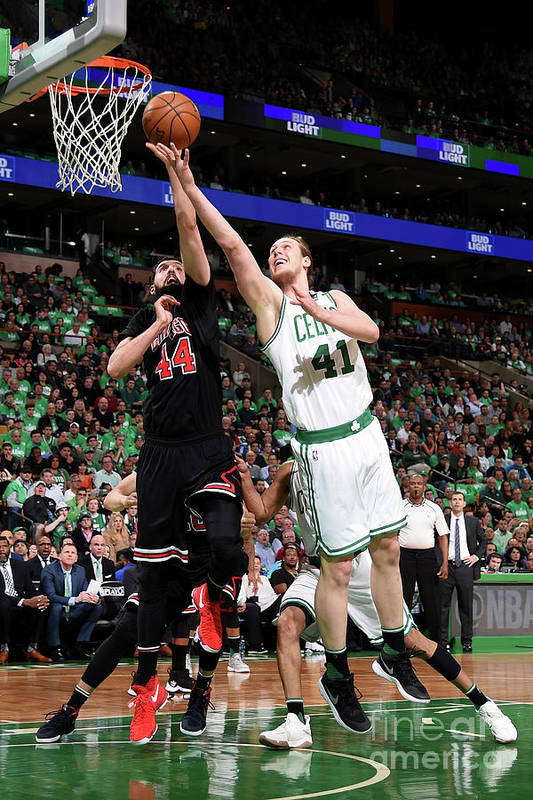 Playoffs Art Print featuring the photograph Kelly Olynyk by Brian Babineau